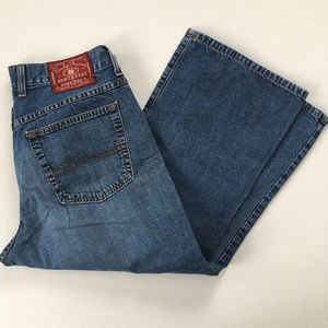 Lucky Brand Dungarees Jeans Size 12 31 Cropped